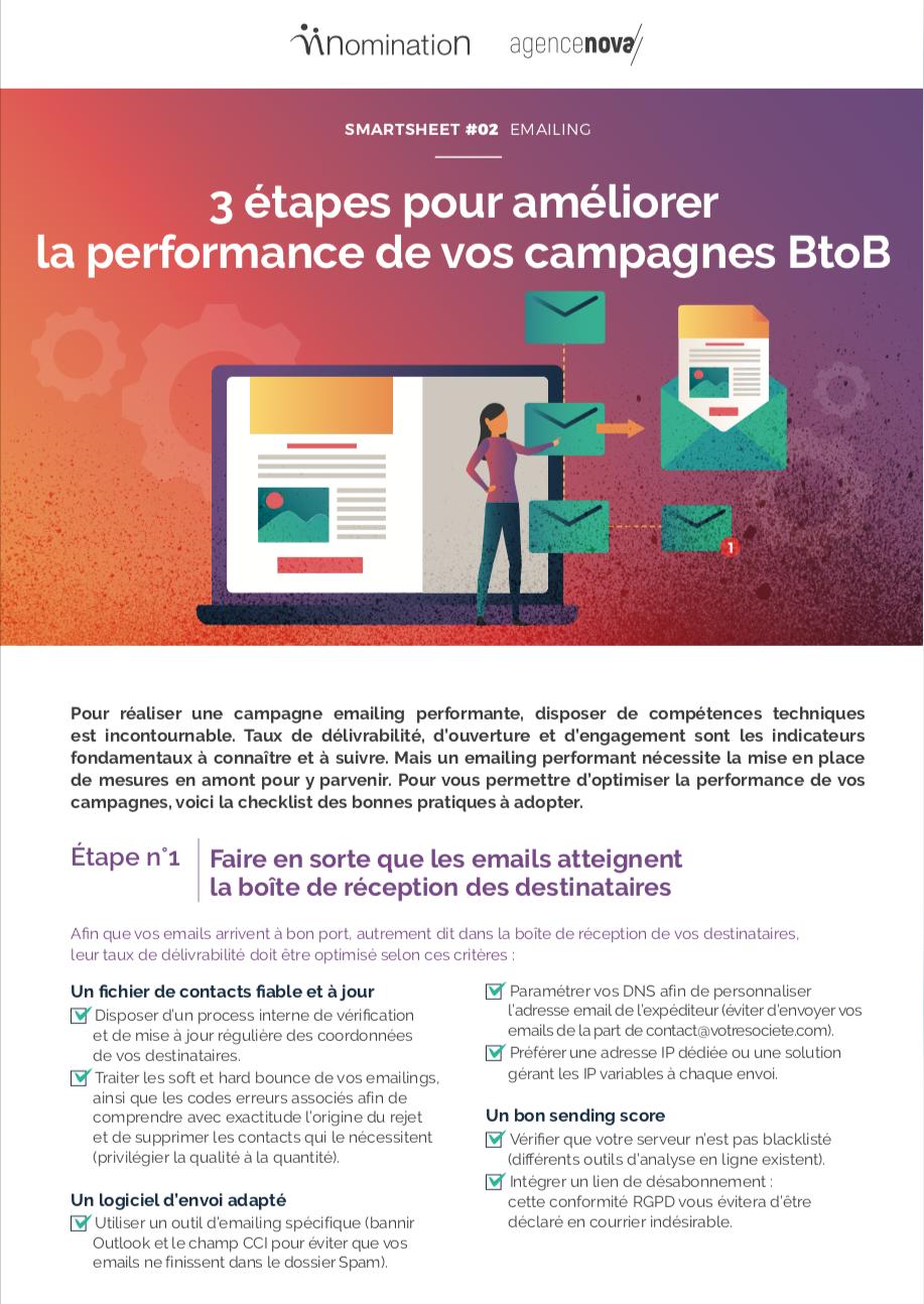 Agence Nova Smart Sheet #2